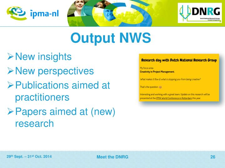 Output NWS