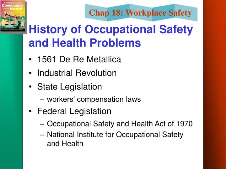History of Occupational Safety and Health Problems