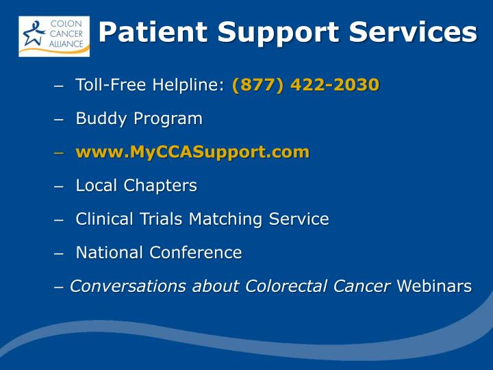 Patient Support Services