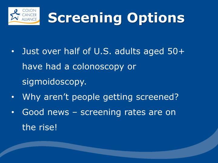 Screening Options