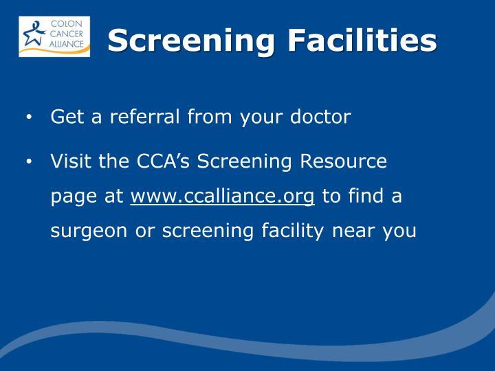Screening Facilities
