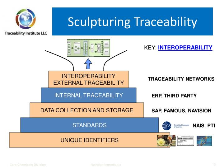 Sculpturing Traceability
