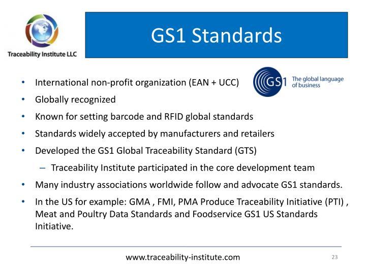 GS1 Standards