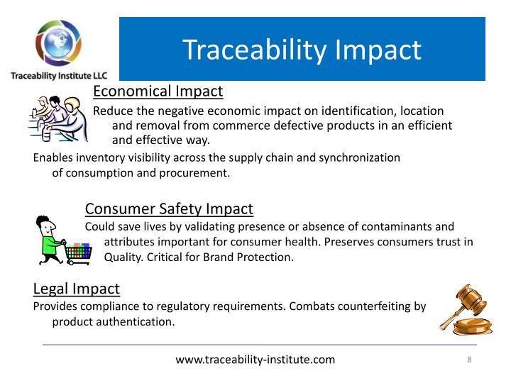 Traceability Impact