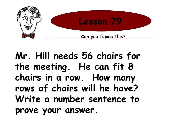 Lesson 79