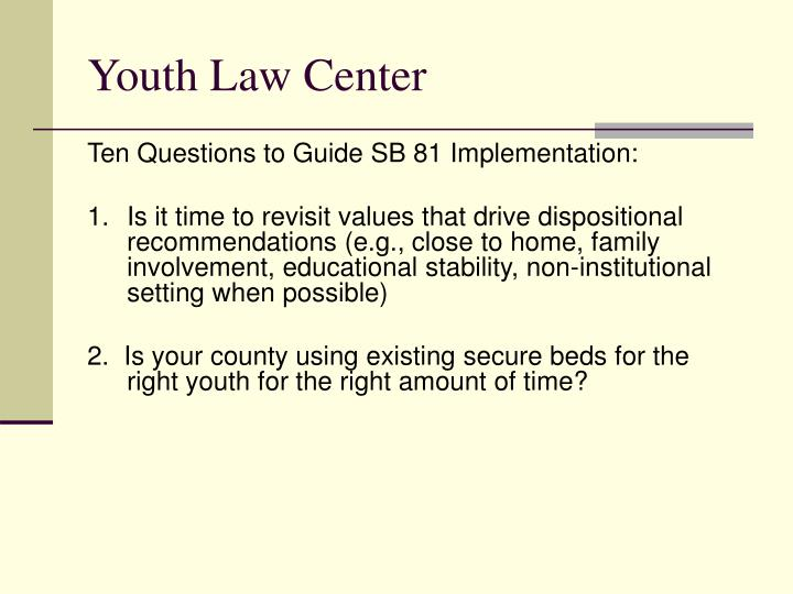Youth law center2