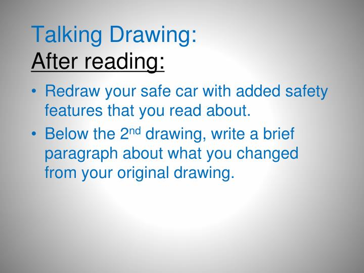 Talking Drawing: