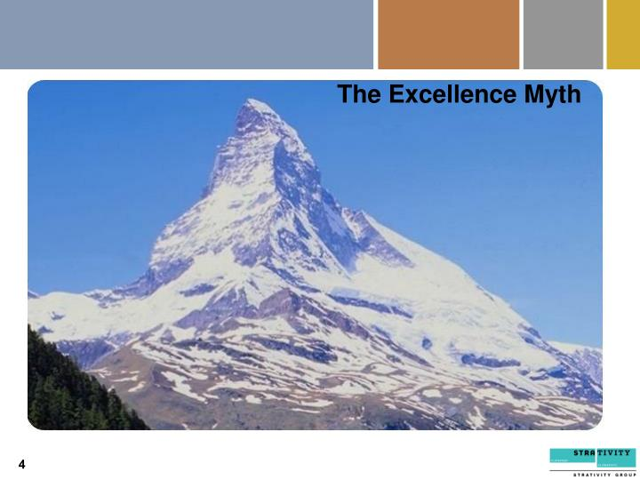 The Excellence Myth