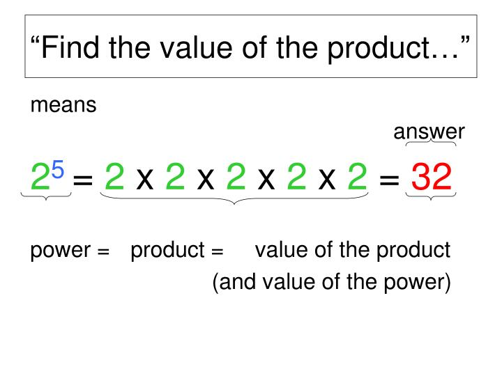 """Find the value of the product…"""
