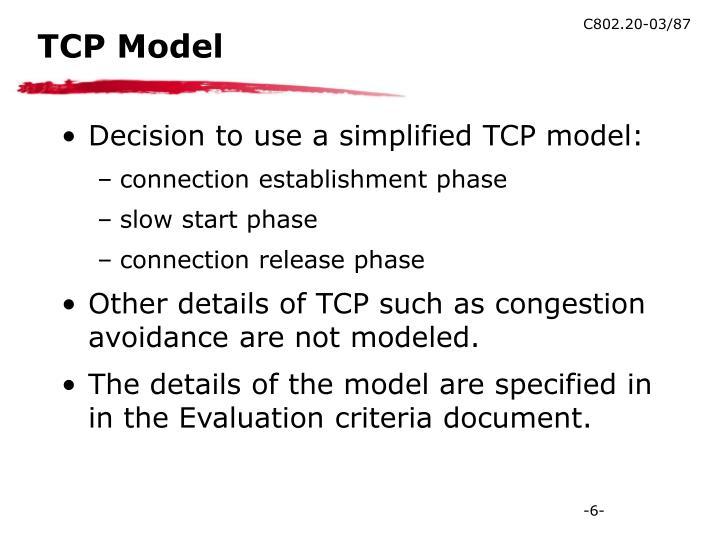 TCP Model