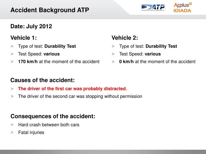 Accident Background ATP