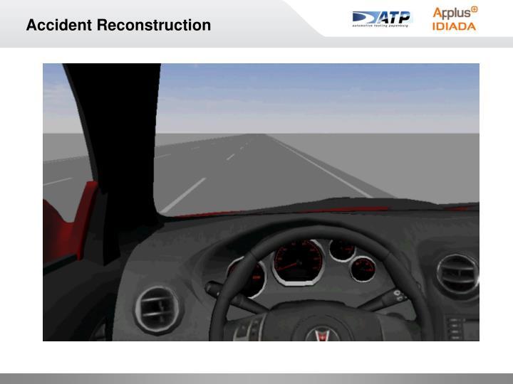 Accident Reconstruction