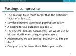 postings compression1