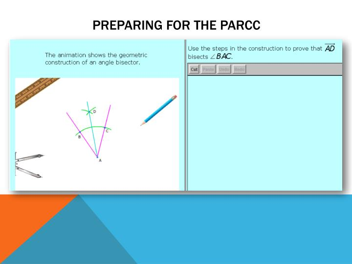 Preparing for the ParCC