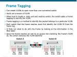 frame tagging