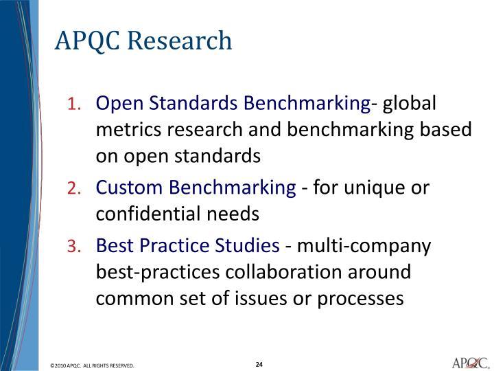APQC Research
