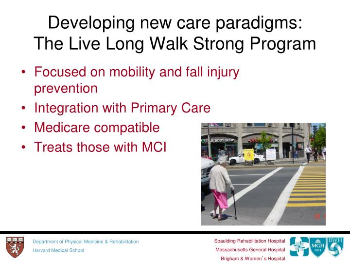 Developing new care paradigms: