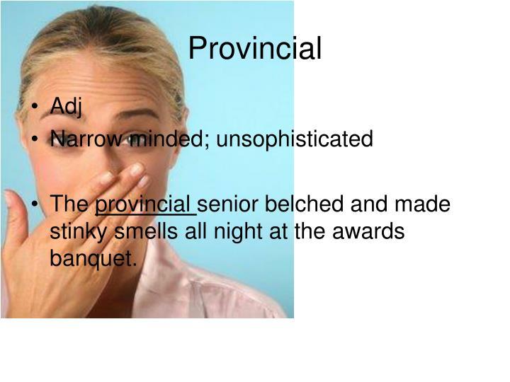 Provincial