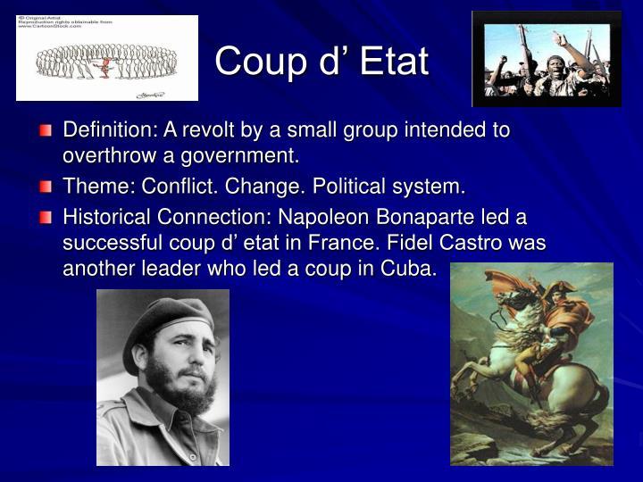 Coup d' Etat
