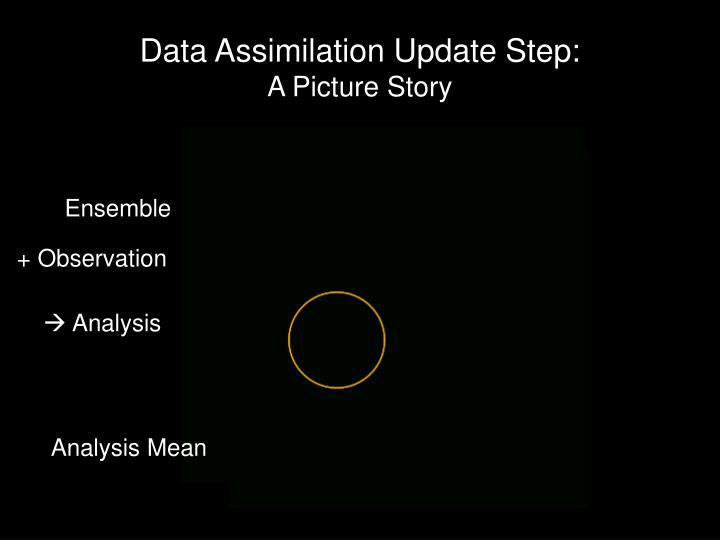 Data Assimilation Update Step: