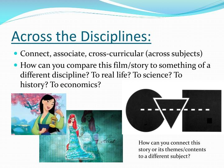 Across the Disciplines:
