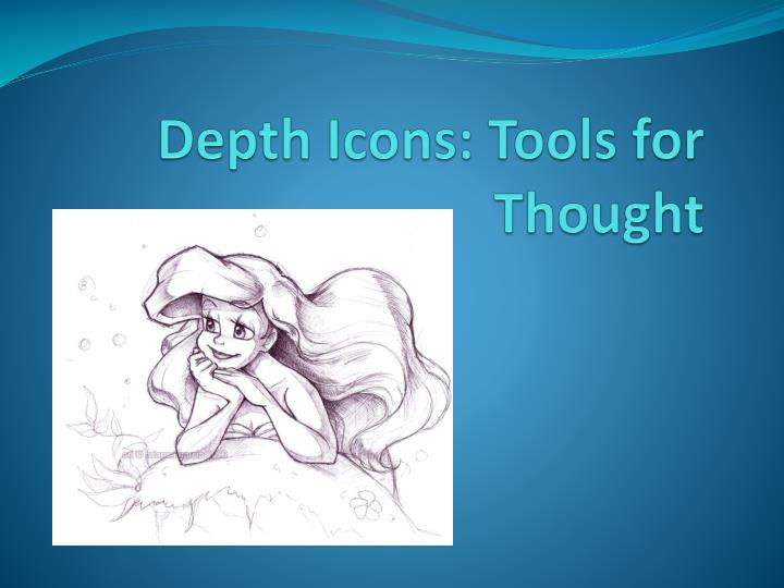 Depth icons tools for thought