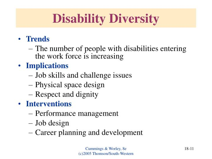 Disability Diversity