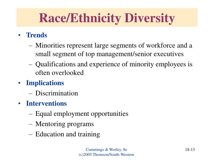 Race/Ethnicity Diversity