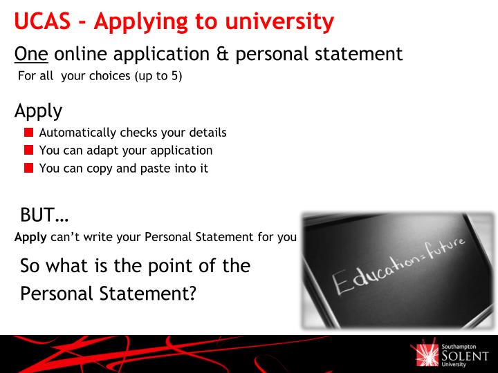 UCAS - Applying to university