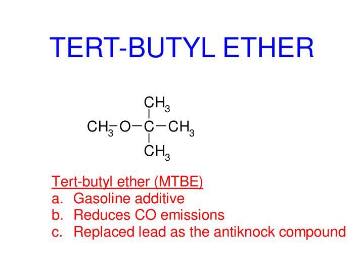 TERT-BUTYL ETHER