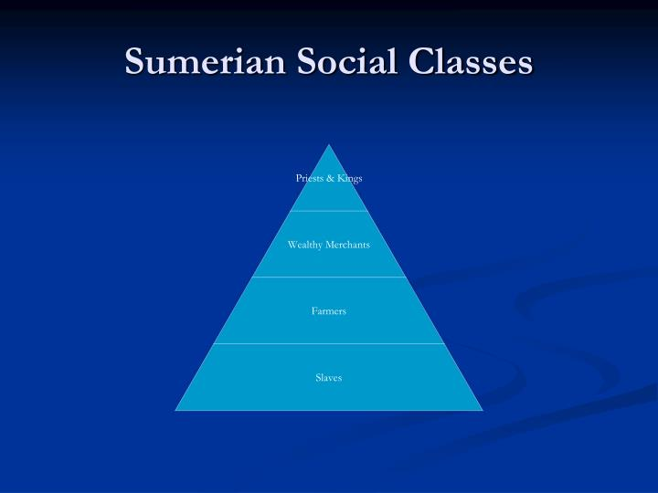 Sumerian Social Classes
