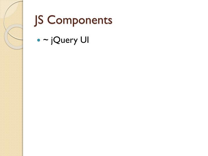 JS Components
