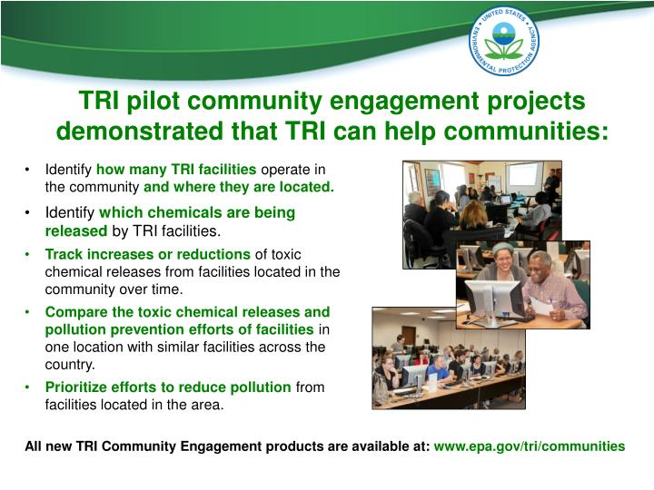 TRI pilot community engagement projects demonstrated that TRI can help