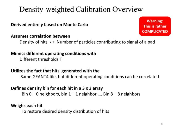 Density-weighted Calibration