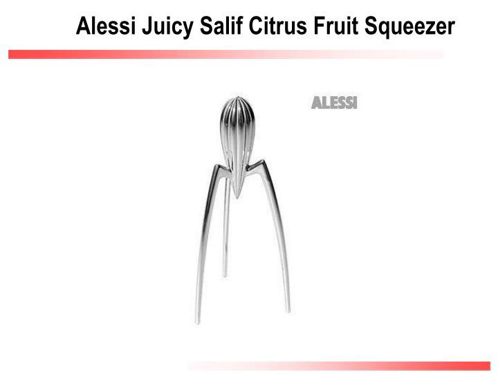 Alessi Juicy Salif Citrus Fruit Squeezer
