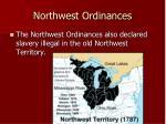northwest ordinances