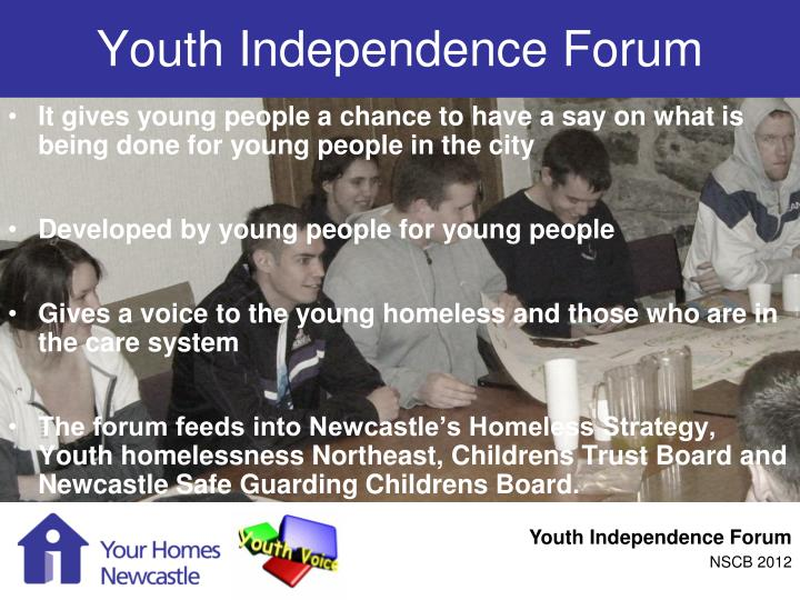 Youth independence forum