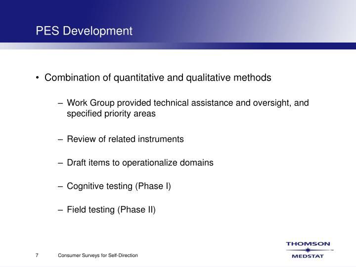 PES Development