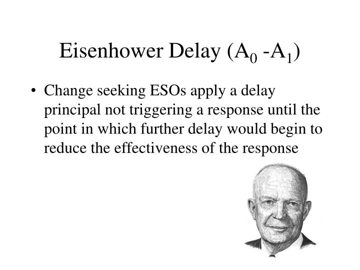 Eisenhower Delay (A