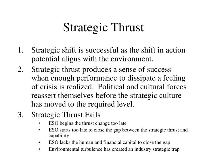 Strategic Thrust