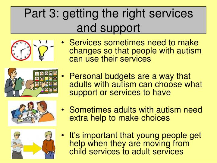 family services adult autism employment