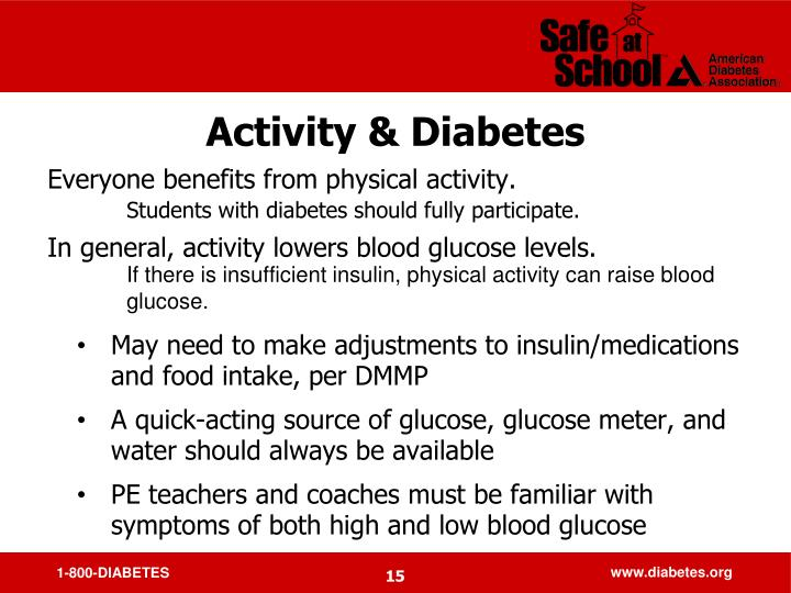 Activity & Diabetes