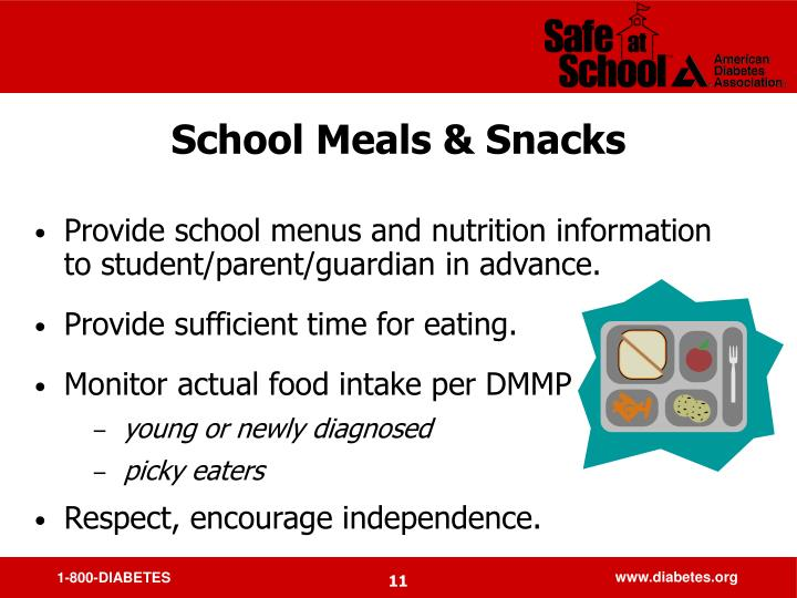 School Meals & Snacks