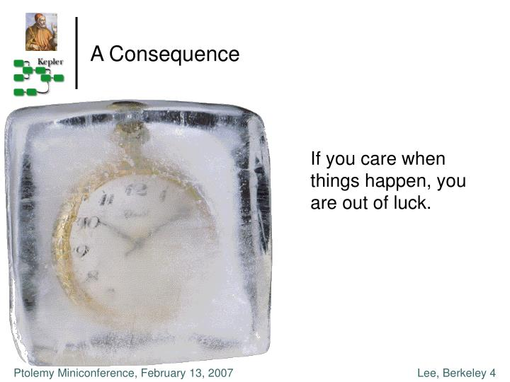 A Consequence