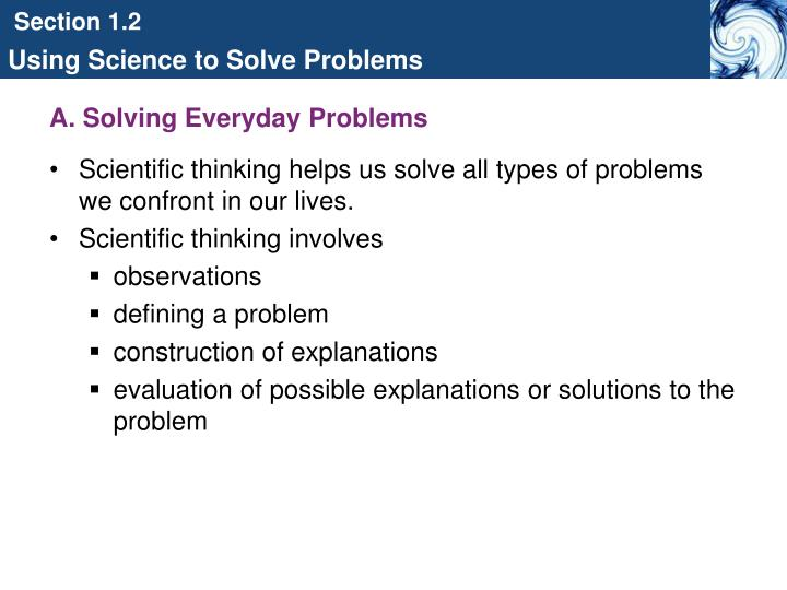 A. Solving Everyday Problems