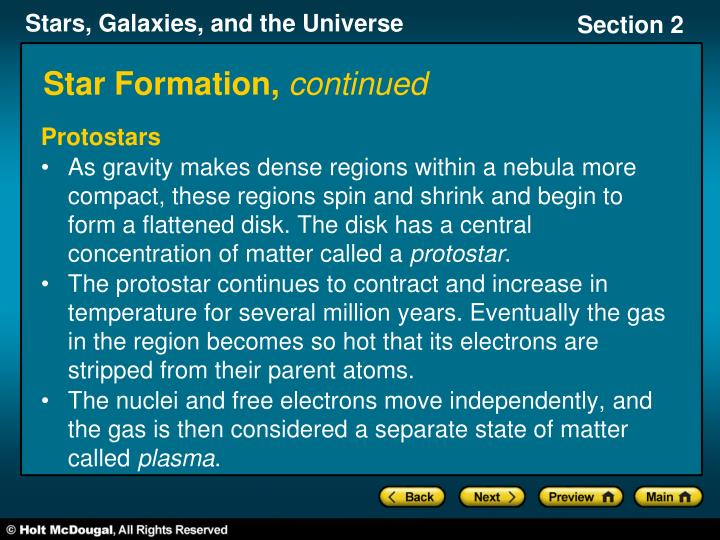 Star Formation,