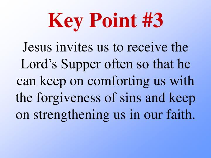 Key Point #3