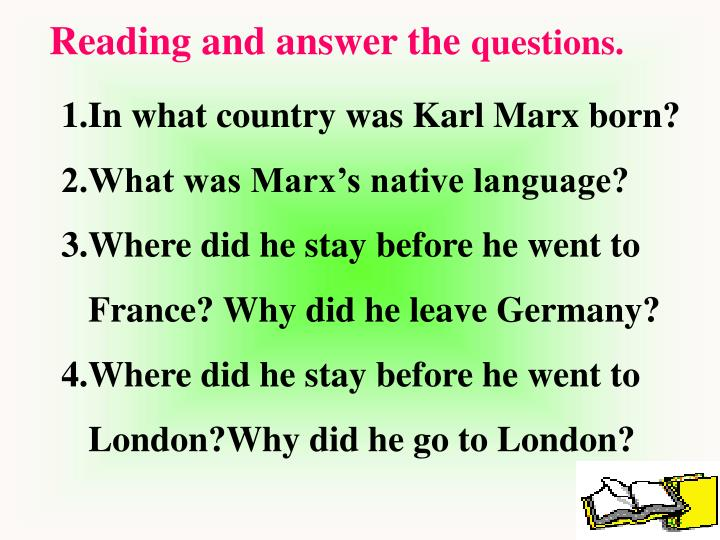Reading and answer the