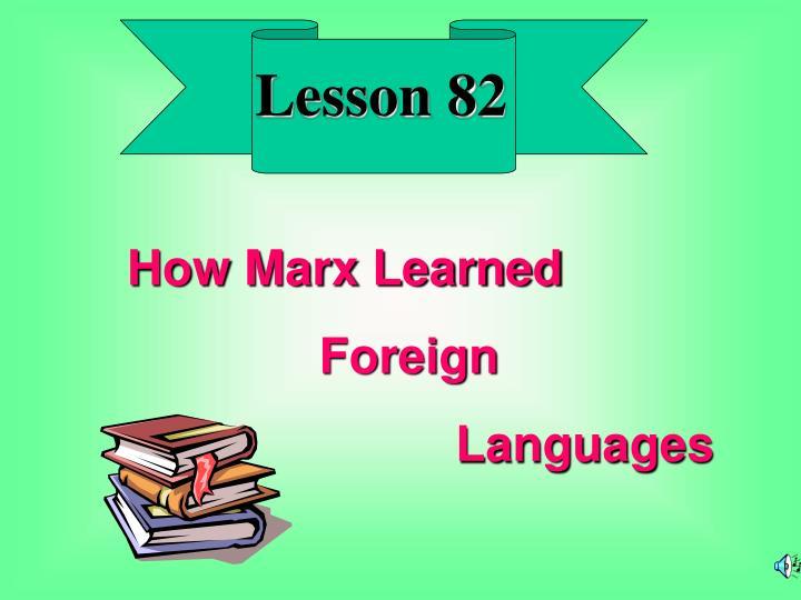Lesson 82