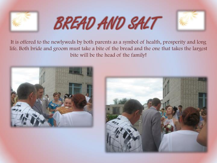 BREAD AND SALT